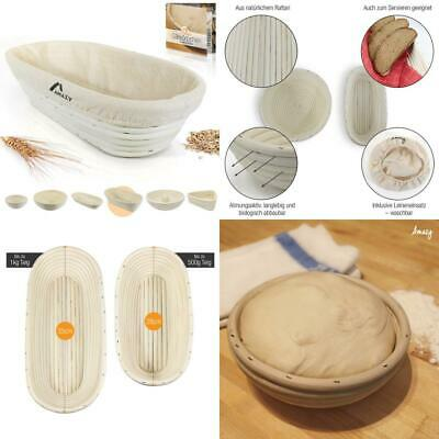 Amazy Bread Proofing Basket – The Functional Baking Made Of Natural Rattan...