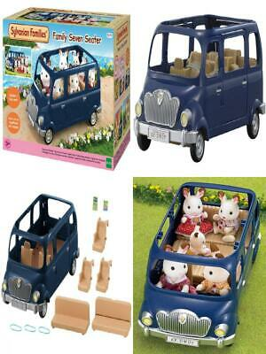 Sylvanian Families 5274 Family Siebensitzer Doll Car, Multicolor