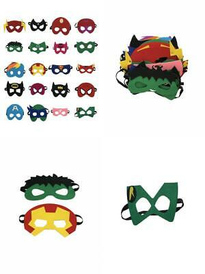 Superheroes Party Masks for Children (20-Pack) Costumes Girls, Boys, Kids