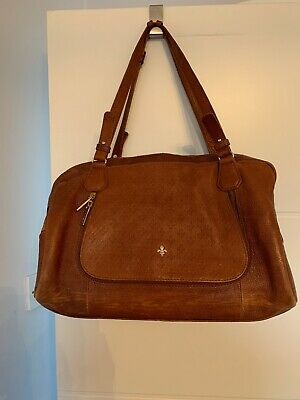 c900642f02e3 Stunning Designer 100% Genuine Leather Patrick Cox Handbag High Quality  Brown