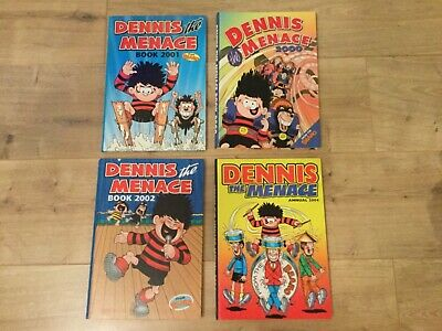 Dennis the Menace Annuals - 2000, 2001, 2002, 2004