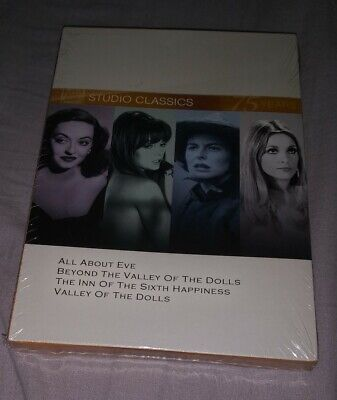 Classic Quad Set 9 (All About Eve / Beyond the Valley of the Dolls / The Inn of
