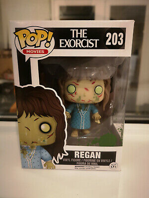 Action- & Spielfiguren Movies #203 Vinyl Figur Funko Regan The Exorcist Der Exorzist Horror Pop Aufsteller & Figuren