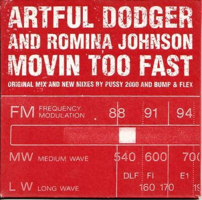 Artful Dodger and Romina Johnson - Movin Too Fast (2000) VG+/NM