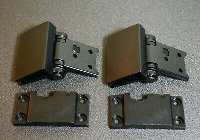 Hinge for Linn turntable lid including Hinge Back Plate (pair)