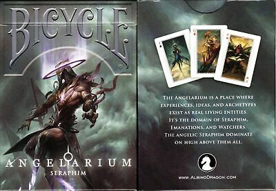 Angelarium Bicycle Limited Edition 4 different Card Decks by Peter Mohrbacher