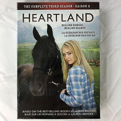Heartland: The Complete Third Season 3 (DVD, 5-Disc Set) CBC Canadian TV Series