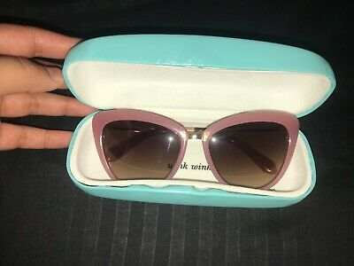 90eb1d5c0d33a NEW KATE SPADE Sunglasses Genice s Rre-Ab Green Gold navy Turquoise ...