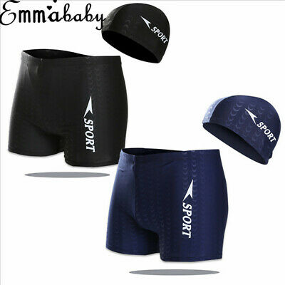 Mens Summer Swim Shorts Swimwear Swimming Underwear Boxer Pants Beach Sports