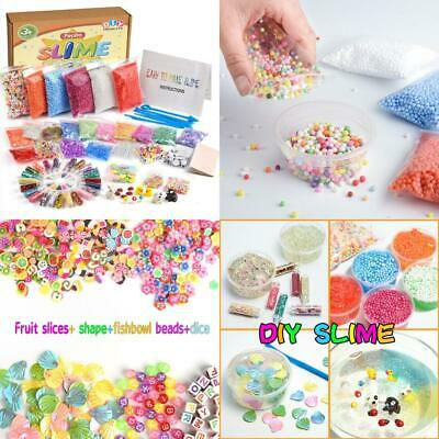 FEPITO 76 Packs Slime Accessories Kit Including Foam Beads, Fishbowl...