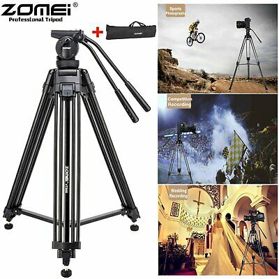ZOMEI VT666 Video Camera Universal Smartphone Tripod for Photographying + Bag BT