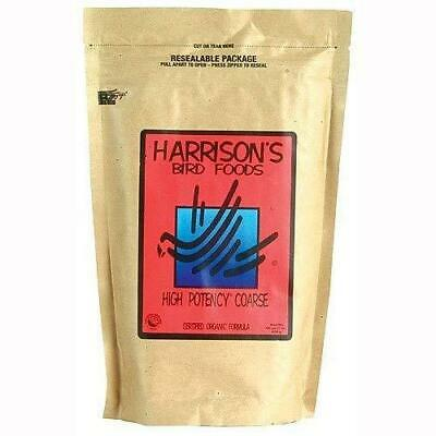 Harrison`s High Potency Coarse 5lb - Complete Parrot Diet - Fast Free Shipping