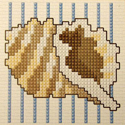 Sea Shell #1 - Semco easy-to-do counted cross-stitch kit