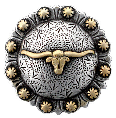 """Longhorn  Gold Berry Concho 1 1/2"""" (38mm)"""