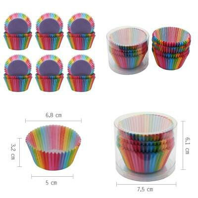 Cupcake Cases 600pcs Cake Paper Wrapper Baking Rainbow for Muffin...