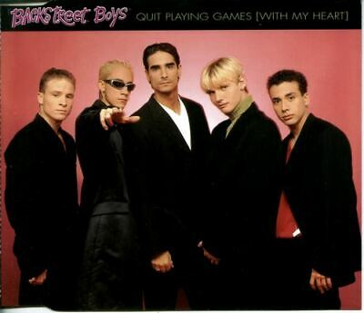 Backstreet Boys - Quit Playing Games [With My Heart] (1996) VG/NM