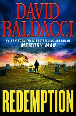 Redemption (Memory Man series) (Hardcover, 2019) by David Baldacci