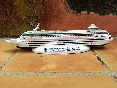 Sovereign Of The Seas Cruise Ship Model. Royal Caribbean Model. Paperweight.