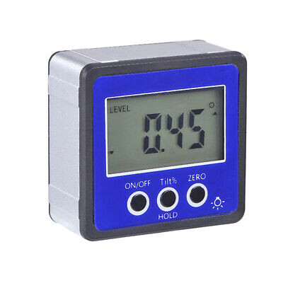 Digital Protractor Angle Finder Bevel Level Box Inclinometer Meter Magnetic TXZ