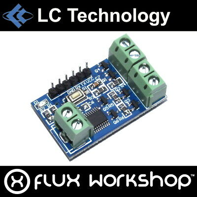 LC Technology RGB LED Control Module MOSFET PWM Display UART Flux Workshop