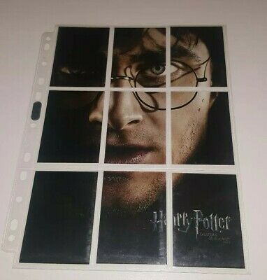 Harry Potter Deathly Hallows Pt 2 Trading Card Chase Set BP1-BP9 (Artbox, 2011)