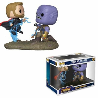 Funko Pop! -  Thor vs Thanos - Movie Moment Infinity War - Producto Oficial