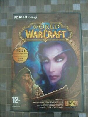 Boite World Of Warcraft 4Cd + Notice + 2 Mini Livres Guild Wars Pour Collection