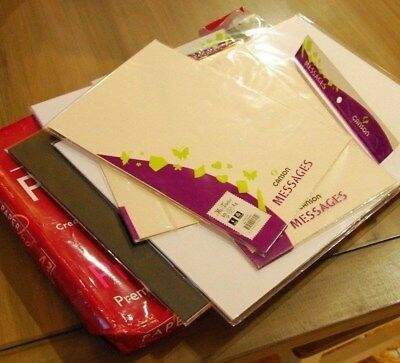 Bulk lot paper and card. Quality stationery. A3 and A4.
