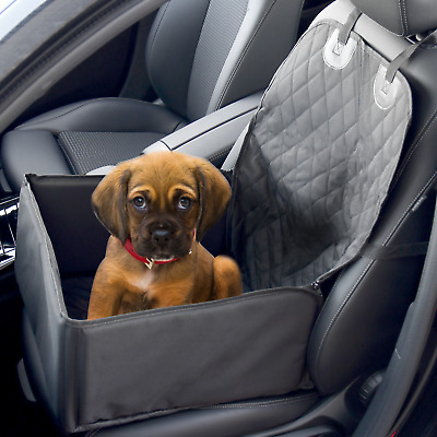2 In 1 Dog Booster Car Seat Cover | Waterproof Pet Carrier Protector | M&W