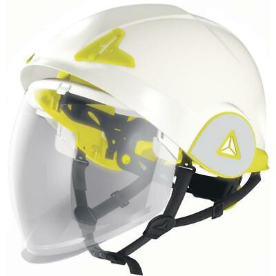 DELTA PLUS Onyx arc & molten-metal insulated retractable visor safety helmet