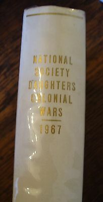 NATIONAL SOCIETY DAUGHTERS COLONIAL WARS 1967 Lineage Book IV FREE US  SHIPPING