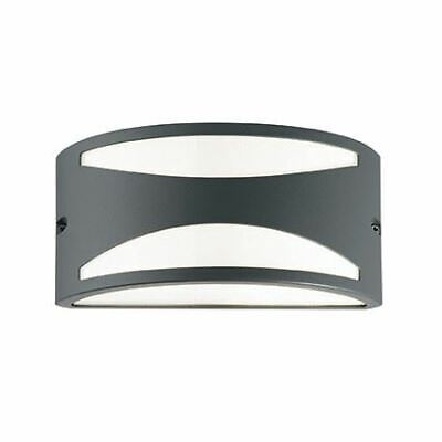 IDEAL LUX Marte-Outdoor Wall Light Anthracite IP44-IDL135854