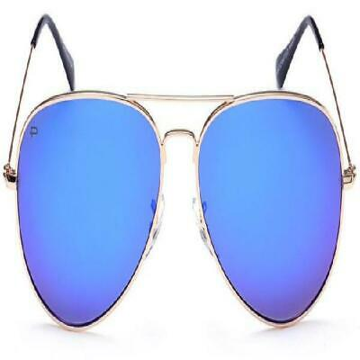 1d5940cafa PRIVE REVAUX COMMANDO Aviator Polarized Sunglasses Gold NEW A308350 ...