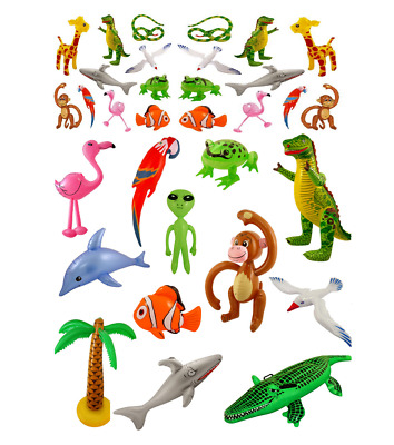 Inflatable Animals Fun Kid's Birthday Party Gift Toy Animals Fancy Dress Fishes