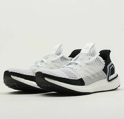 03a49f142 Adidas UltraBoost 19 Panda White Black B37707 Boost Running Shoes Sneakers  NIB