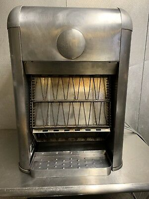 Merco Savory Antique Collectible Detroit Hotel Vertical Conveyor Toaster CT 4