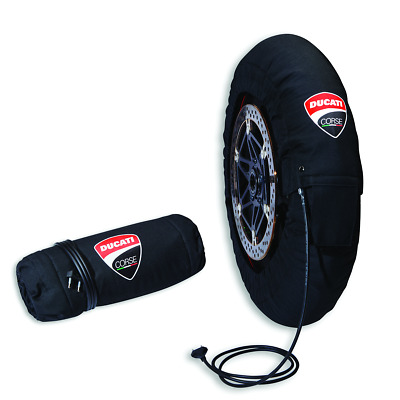 New Ducati Panigale V4 Tire Warmer Set 97980601AZ New