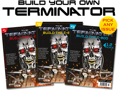 Build Your Own TERMINATOR | 1:2 Scale | Build The Terminator | T-800 | + R2D2