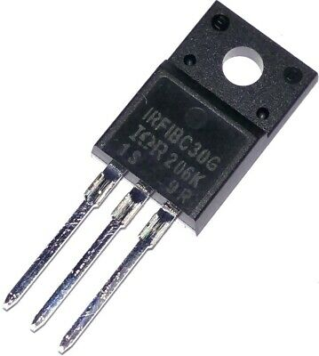 5 New parts IRFIBC30G IRFIBC30 600V N channel MOSFET/'s Qty