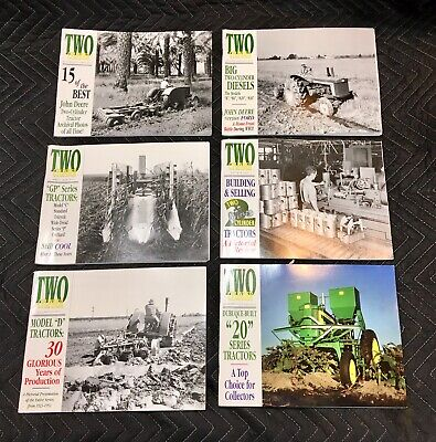 Lot of 6 John Deere Two-Cylinder Magazines | Complete Year | 2001