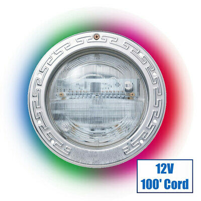 IntelliBrite Color 5G LED 12V Pool Light with 100 ft Cord