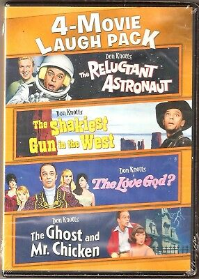 Don Knotts 4-Movie Laugh Pack DVD BRAND NEW