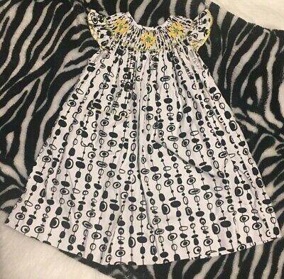 Clothing, Shoes & Accessories Dresses Amanda Remembered Smocked Short Outfit Green Polka Dot Octopus Sz 4t Euc Low Price