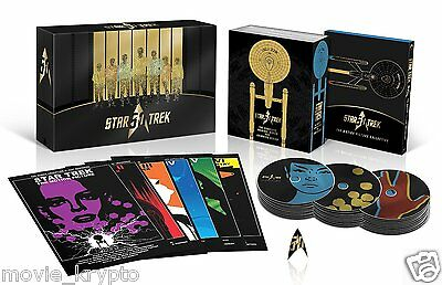 Star Trek 50th Anniversary TV & Movie Collection [Blu-ray] (Bilingual) *NEW*
