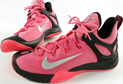 sports shoes f5fd9 0d494 NIKE Zoom HyperRev 2015 shoes- Think PINK- 12- NEW-breast cancer Basketball
