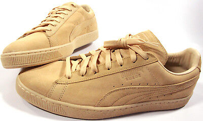 3d5ca6395823 PUMA Suede Classic Tonal Shoes- 12- NEW- natural beige retro leather  Sneakers