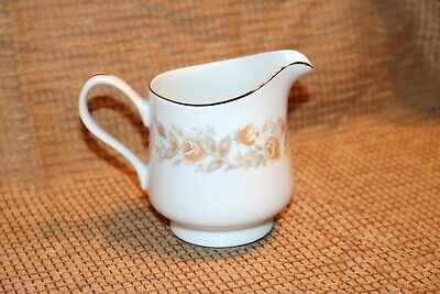 "Carlton - ROSEALYN - 520 - Japan - 3 7/8""h - 8 ounce - Creamer"