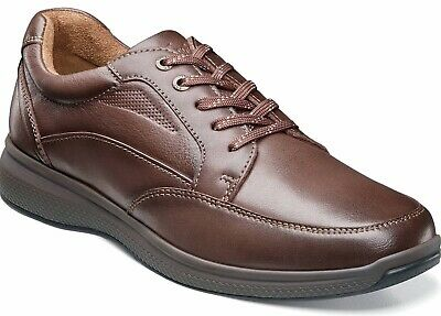 Mens Florsheim Great Lakes Oxford Shoes - Brown Leather [13321 247]