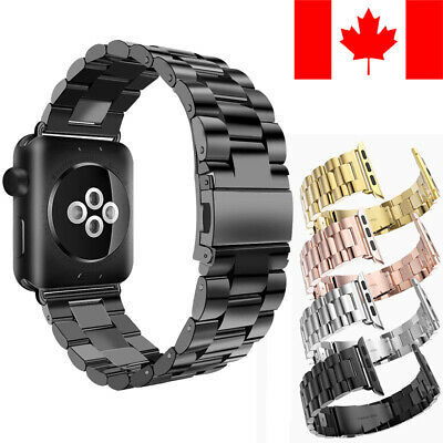 Stainless Steel Metal Replacement Band For Apple Watch (Series 1 / 2 / 3 / 4)