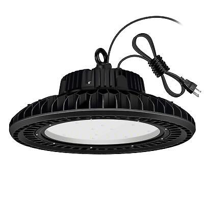 UFO 200W LED High Bay Light Dimmable UL cUL DLC 25500LM MEANWELL IP65 Warehouse
